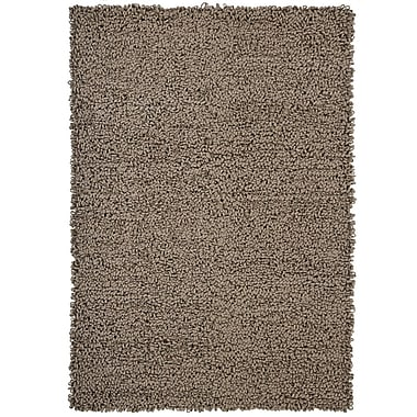 17 Stories Holman Shag Sand Rug; Rectangle 2' x 3'