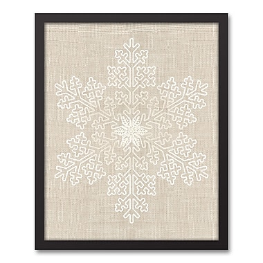 The Holiday Aisle 'Ornament' Framed Graphic Art Print on Canvas; 21.73'' H x 17.73'' W