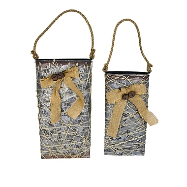 The Holiday Aisle Tin Xmas 2 Piece Hanger Set