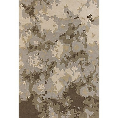 Williston Forge Lindsy Brown/Tan Area Rug; Rectangle 7'9'' x 10'6''