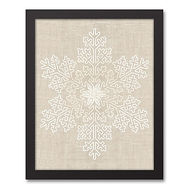 The Holiday Aisle 'Ornament' Framed Graphic Art Print on Canvas; 15.73'' H x 12.73'' W