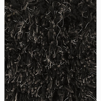 Union Rustic Haddington Black Area Rug; Rectangle 7'9'' x 10'6''