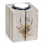 August Grove Traditional Wood Tealight Holder