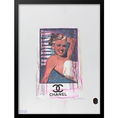 East Urban Home 'Marilyn' Framed Graphic Art Print