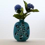 Bungalow Rose San Clemente Handmade Decorative Ceramic Table Vase