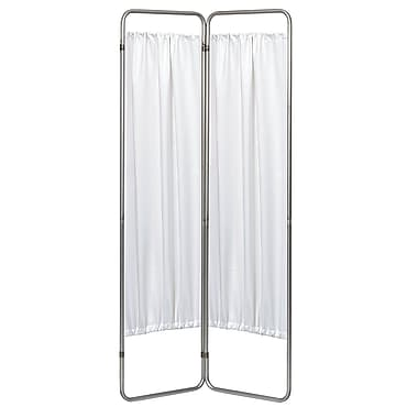 Symple Stuff 68'' x 27'' Privacy Screen 2 Panel Room Divider; White