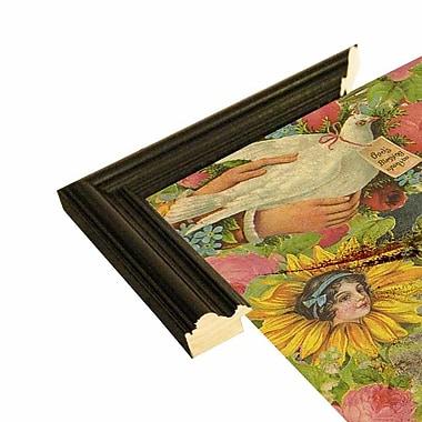 East Urban Home 'The Holy Father' Framed Graphic Art Print; Black Wood Grande Framed Paper