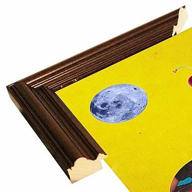 East Urban Home 'Earthcone' Framed Graphic Art Print; Cherry Wood Grande Framed Paper