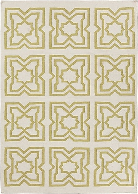 Highland Dunes Hummel Abstract Rug; 7' x 10'