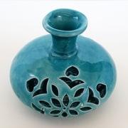 Bungalow Rose Turlock Handmade Decorative Ceramic Table Vase