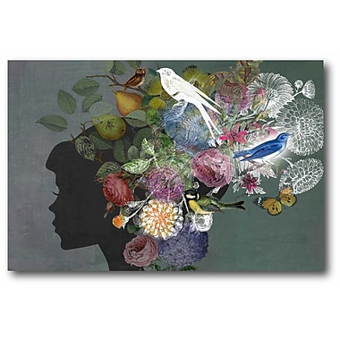 Bloomsbury Market 'Spring Beauty' Graphic Art Print on Wrapped Canvas