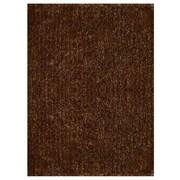 Winston Porter Birkett Hand Tufted Solid Gold Area Rug; Rectangle 5' x 8'