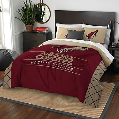 Northwest Co. NHL Coyotes Draft 3 Piece Full/Queen Comforter Set