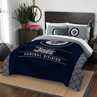 Northwest Co. NHL Winnipeg Jets Draft 3 Piece Full/Queen Comforter Set