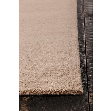 Latitude Run Stockstill Hand-Knotted Beige Area Rug; Rectangle 5' x 7'6''