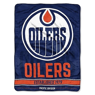 Northwest Co. NHL Oilers Breakaway Micro Throw