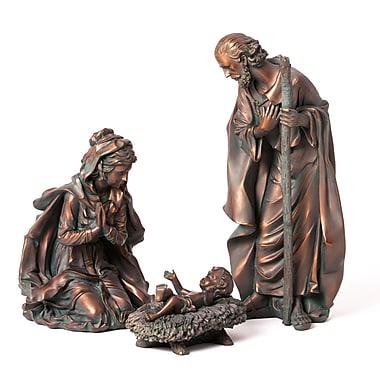 The Holiday Aisle 3 Piece Nativity Set