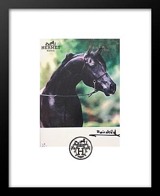 Alcott Hill 'Hermes Horse' Vertical Framed Graphic Art Print