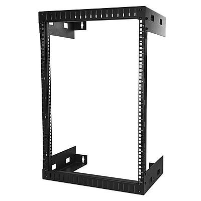 StarTech Wall Mount Server Rack, 15U Rack, 12in Deep (RK15WALLO)