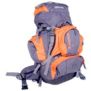 WillLand Outdoors Everest 35L Hiking Pack, Orange/Dark Grey (B60740)