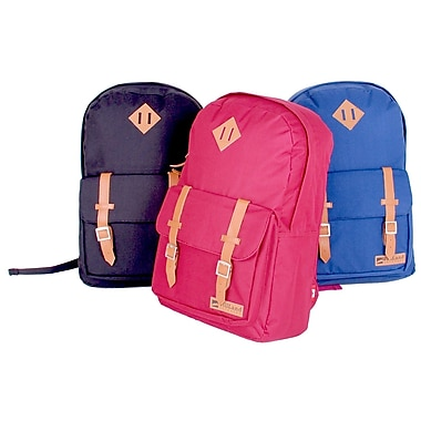 WillLand Outdoors College Romantica Backpack, Burgundy (B60769)