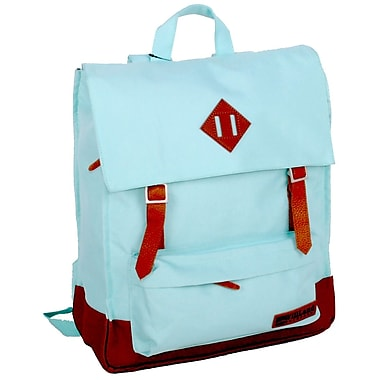 WillLand Outdoors College Victoria Backpack, Light Aqua (B60852)