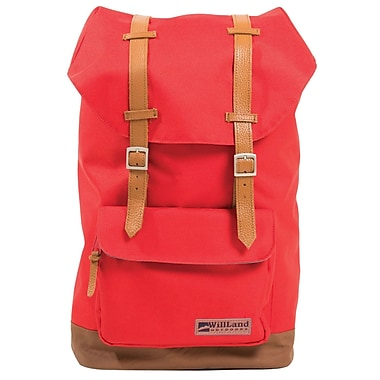 WillLand Outdoors College Deliziosa Backpack, Red (B60791)