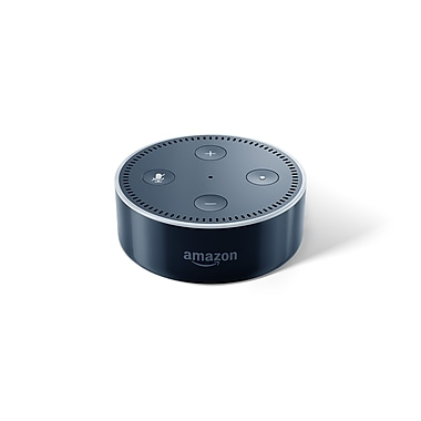 Amazon – Dispositif Echo Dot 2e génération, noir, anglais
