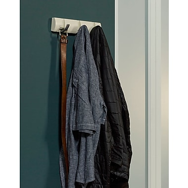 Ebern Designs Attalus Hideaway Round Wall Mounted Coat Rack