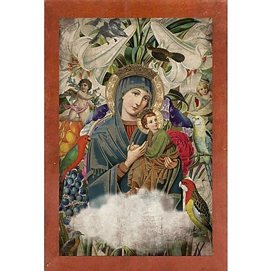 East Urban Home 'Madonna and Child' Framed Graphic Art Print