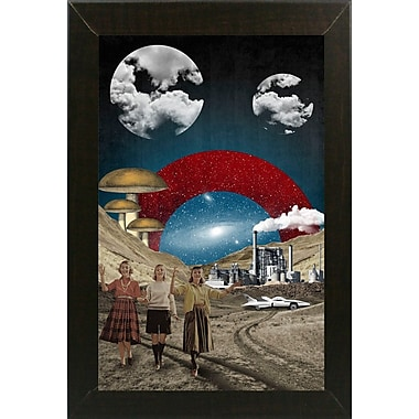 East Urban Home 'Uncertain Future' Framed Graphic Art Print