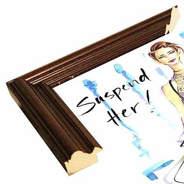 East Urban Home 'Suspend Her' Print; Cherry Wood Grande Framed Paper