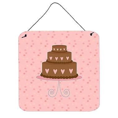 Harriet Bee Heart Cake 3 Tier Contemporary Wall D cor