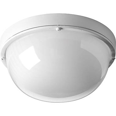 Latitude Run Krystn Modern 1-Light Flush Mount; White