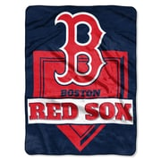 Northwest Co. MLB Red Sox Home Plate Raschel Throw