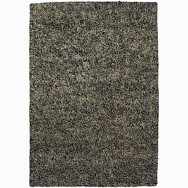 Ivy Bronx Buss Gray Area Rug; Rectangle 5' x 7'6''
