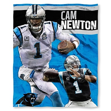 Northwest Co. NFL Panthers Cam Newton Silk Touch Throw