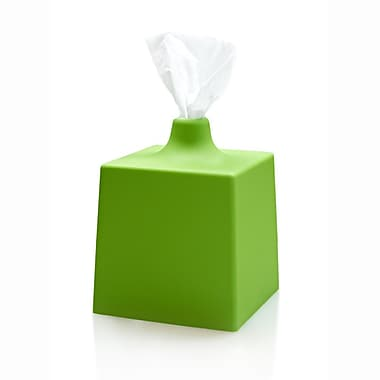 Orren Ellis Ran Tissue Box Cover (Set of 2); Green