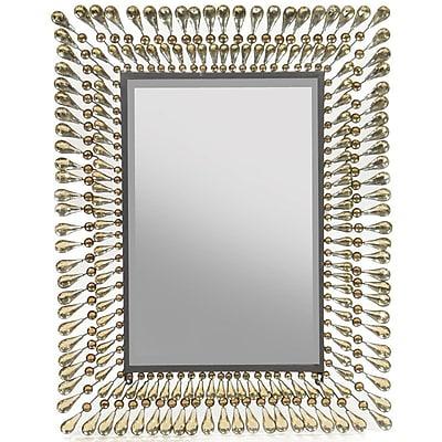 Bloomsbury Market Caulder Metal Accent Mirror