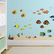 CherryCreekDecals Reef and Fish Nursery Wall Decal