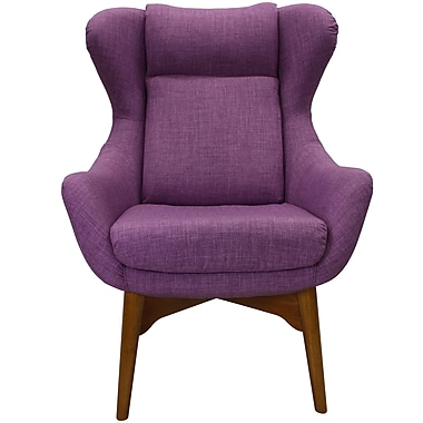 Corrigan Studio Jeanette Lounge Chair; Purple