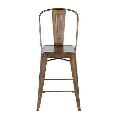 United Chair Industries LLC Dining Chair (Set of 4); Antique Copper