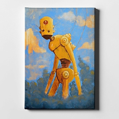 Varick Gallery 'In The Clouds' Giclee Acrylic Painting Print on Canvas; 40'' H x 26'' W x 1.25'' D