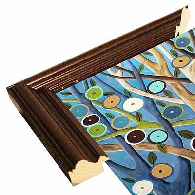 Winston Porter 'Forest Dream' Print; Cherry Wood Grande Framed Paper