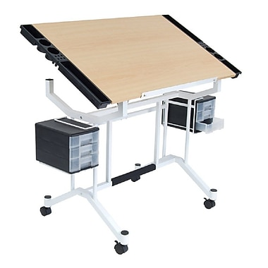 Offex Wood Drafting Table