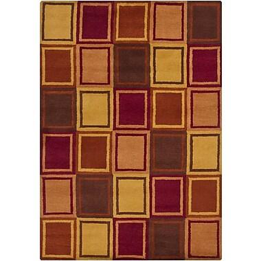 Latitude Run Stockwood Wool Area Rug; 7' x 10'