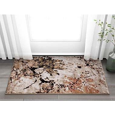 Williston Forge Anastacia Beige Area Rug; 5'3'' x 7'3''