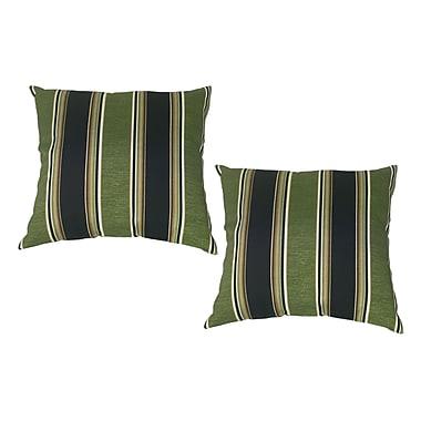 Winston Porter Bartholomew Throw Pillow (Set of 2)