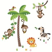 CherryCreekDecals Mischievous Monkeys Nursery Wall Decal