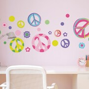 CherryCreekDecals Peace out! Nursery Wall Decal